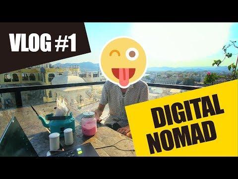 Être digital nomad et comment travailler en voyageant - VLOG#1