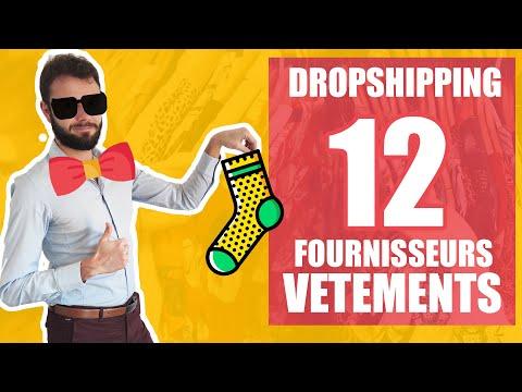 12 Fournisseurs de vêtements, habits et textiles en dropshipping avec possibilité de créer sa marque
