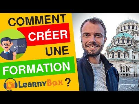LEARNYBOX - Comment créer, héberger 🅴🆃 vendre une formation en ligne