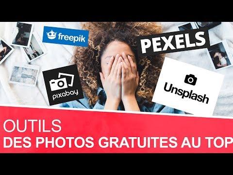 Des photos gratuites et libres de droit - 4 sites (Pexels, pixabay, unsplash, freepik)