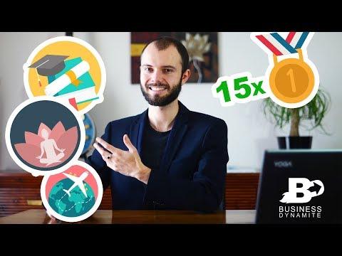 Présentation de la Chaîne Youtube et des formations marketing et dropshipping de BusinessDynamite