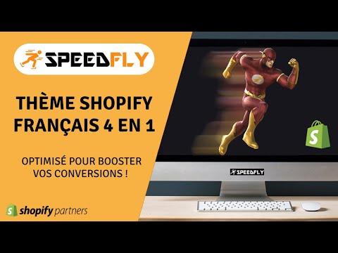 ⚡Rapidité + Simplicité + Efficacité = SPEEDFLY 😍Meilleur Thème Shopify 100% Français 🐓
