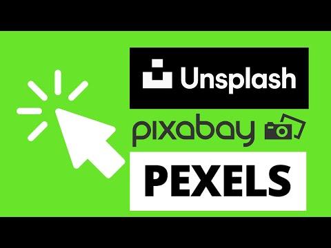 Unsplash, Pexels, Pixabay - Avis sur la meilleure banque d'images gratuites en ligne
