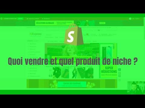 Quoi vendre et quel produit ou niche sur Shopify ?
