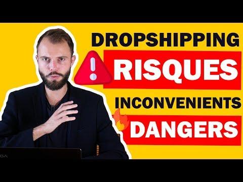 Quels sont les 🆁🅸🆂🆀🆄🅴🆂, difficultés, problèmes et inconvénients du Dropshipping ? 😱