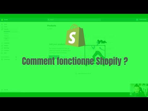 Comment fonctionne Shopify et quel est son fonctionnement ?