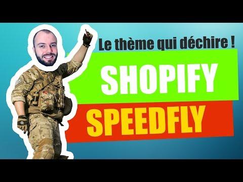 Speedfly, le Thème shopify pour monter sa boutique en 60 minutes !