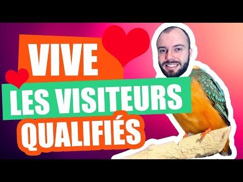 Mieux vaut 1 visiteur qualifié que 100 visiteurs pas intéressés !