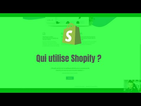 Qui utilise Shopify pour vendre et créer des sites ?
