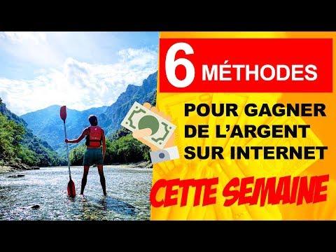 Gagner de l'argent sur internet - 6 Idées de business en ligne