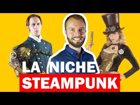 Idée de niche Dropshipping - L'univers Steampunk 🎺