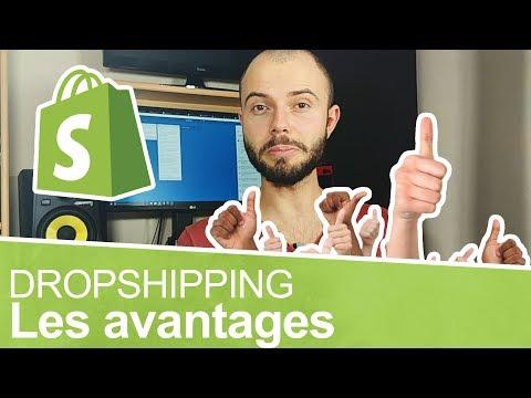 Quels sont avantages à faire du dropshipping ? 😚