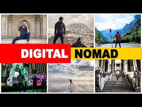 DIGITAL nomad - VOYAGER et travailler en ligne