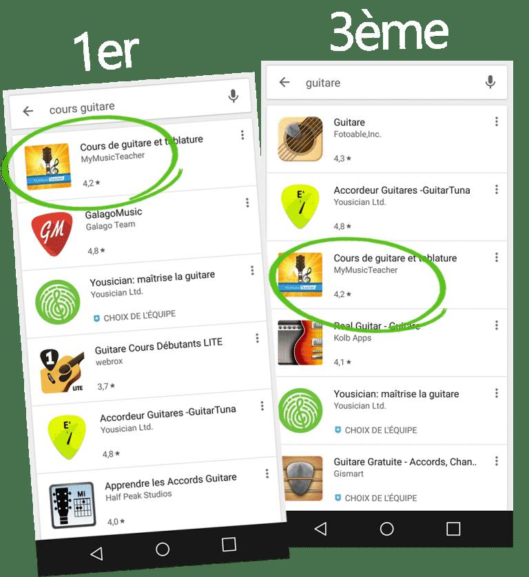 Apprendre à avoir un bon ranking en aso dans le store google.