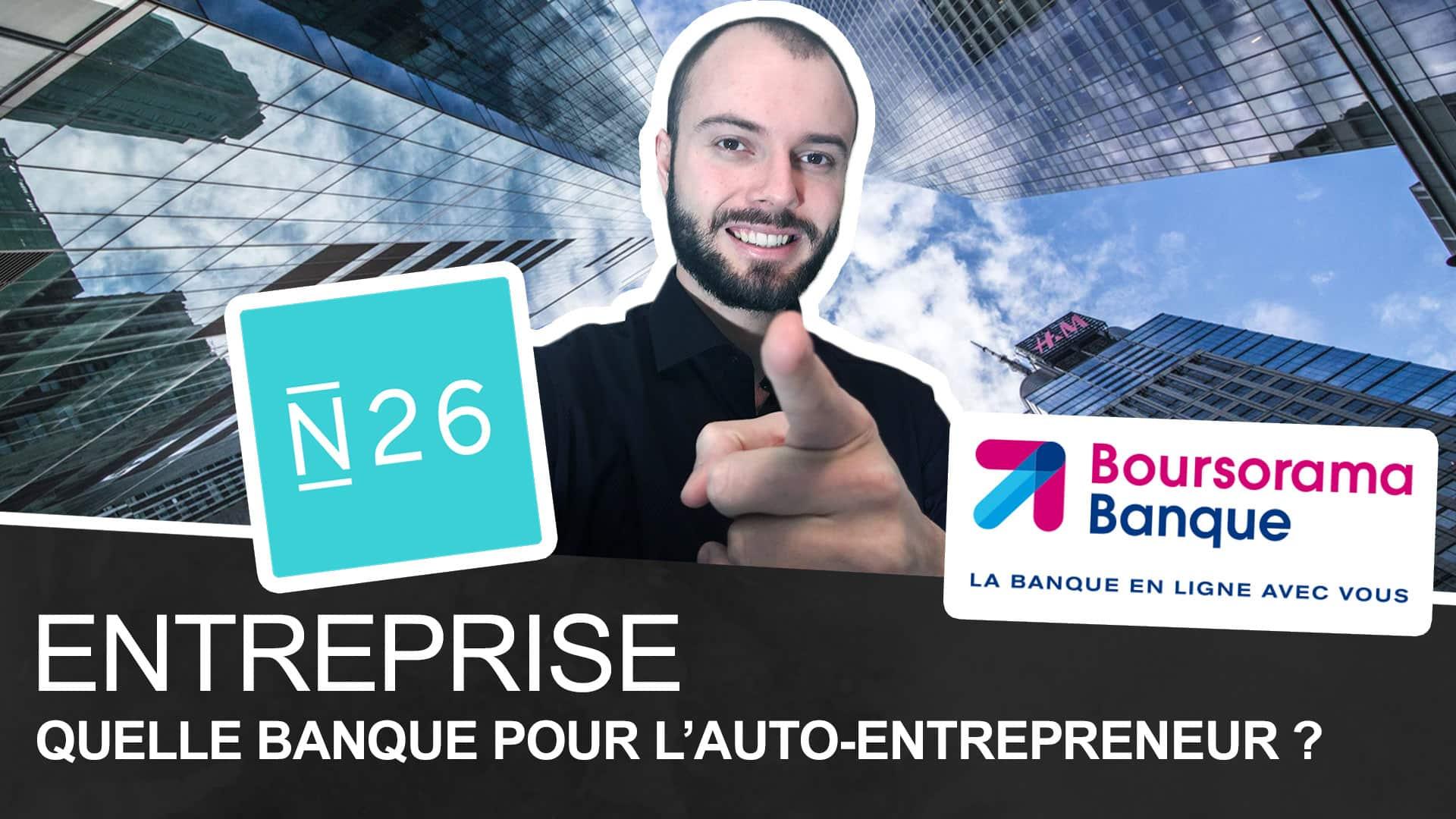 Présentation de N26 une banque pour les auto-entrepreneur.