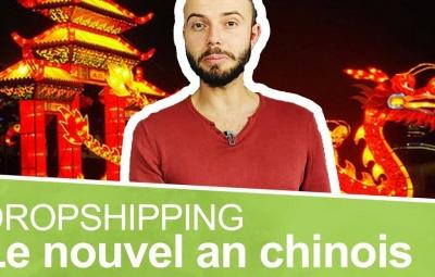Un formateur en dropshipping est en train de parler du nouvel an chinois.