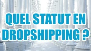 Quel statut juridique pour faire du dropshipping?