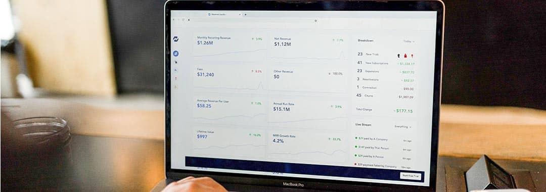 Un site de e-commerce avec ses résultats en relation avec oct et kpmg.