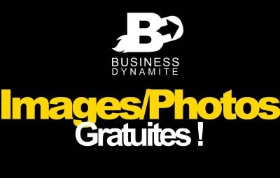 4 sites sont présentés pour pouvoir télécharger gratuitement des images et photos gratuites et libres de droit pour illustrer son site sur un fond noir.