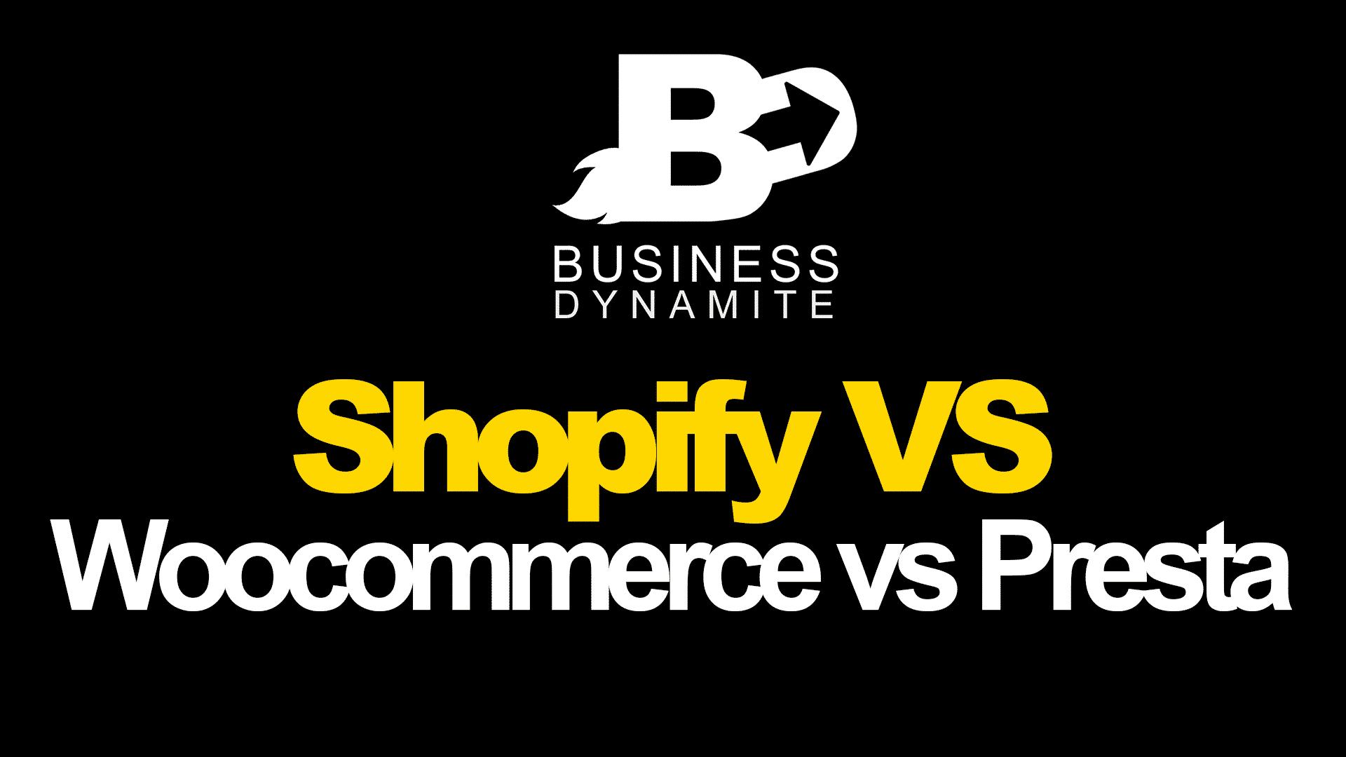 Shopify vs woocommerce vs prestashop en dropshipping 💎