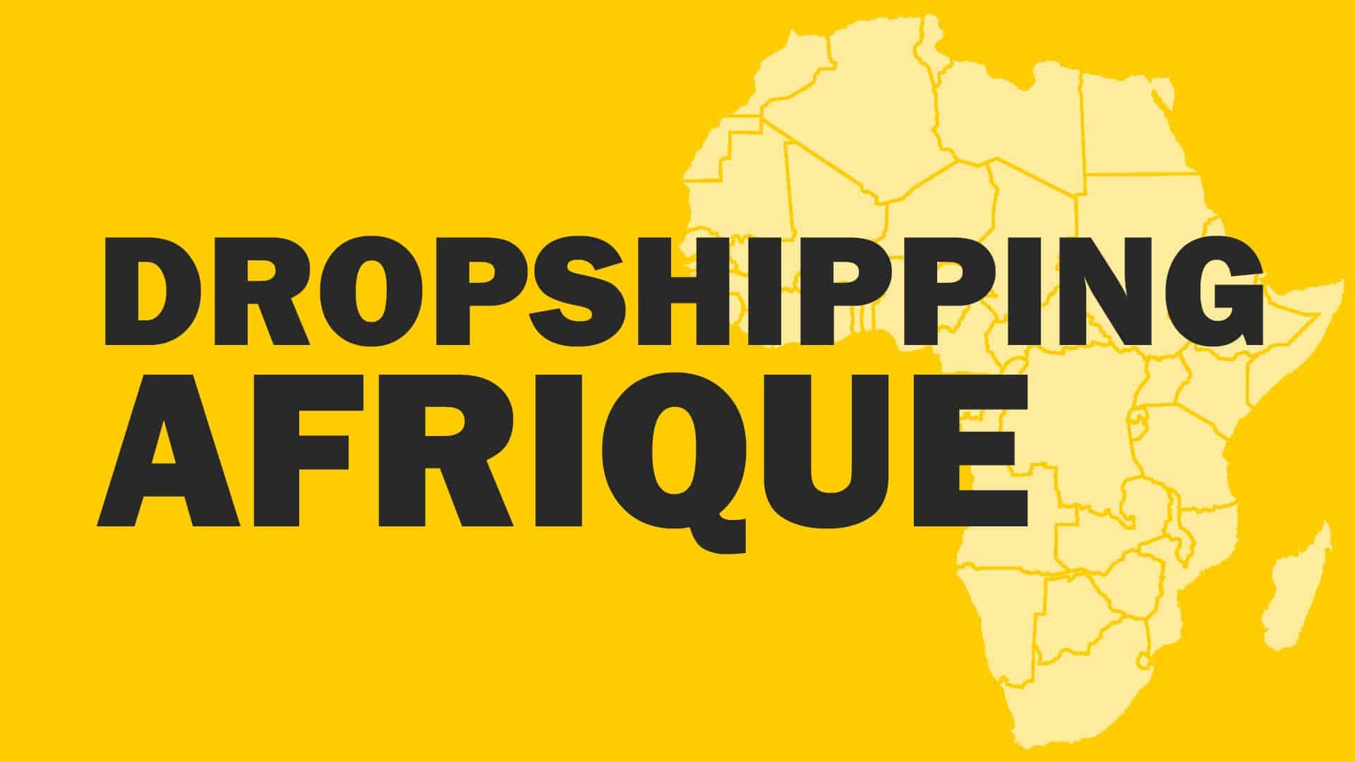 𝔽𝔸𝕀ℝ𝔼 𝔻𝕌 dropshipping en Afrique, est-ce possible ?
