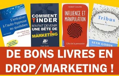 Les meilleurs livre pour se lancer en dropshipping, e-commerce et vendre avec sa boutique en ligne.
