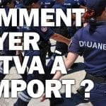 """On observe la douane en train de faire un contrôle avec le texte """" comment payer la tva à l'import en dropshipping ? """""""