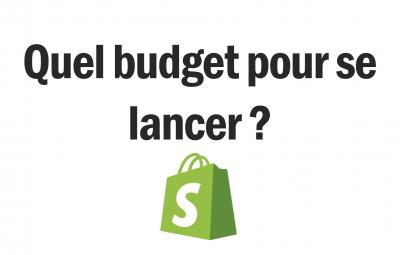 Quel budget pour lancer sa boutique en dropshipping sur shopify ? Pour sa première boutique, voici ce qui est montré dans cette image.
