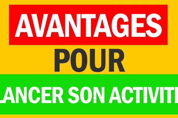 Une image à fond jaune avec le texte qui montre du parrainage chez boursorama et les avantages pour lancer son activité.