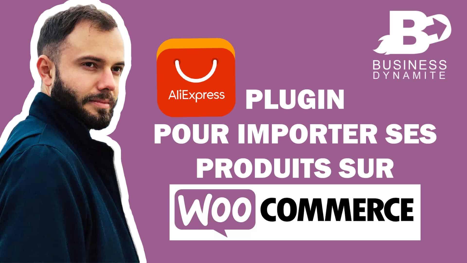 Un formateur est en train d'importer des produits d'aliexpress sur wordpress avec woocommerce en utilisant un plugin ou extension comme alidropship ou esuzy. C'est comme oberlo !