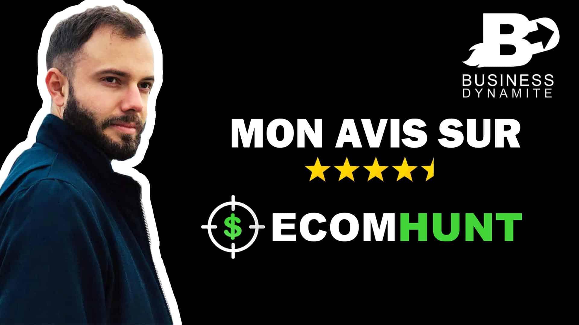 Voici mon avis sur ecomhunt, un outil qui permet de trouver des produits de niche sur aliexpress ou amazon en dropshipping et ecommerce.