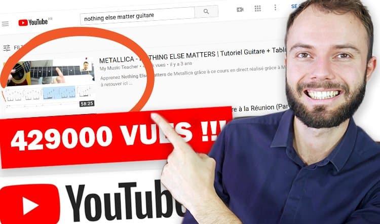 Formation Youtube pour vivre de ses vidéos sur Youtube