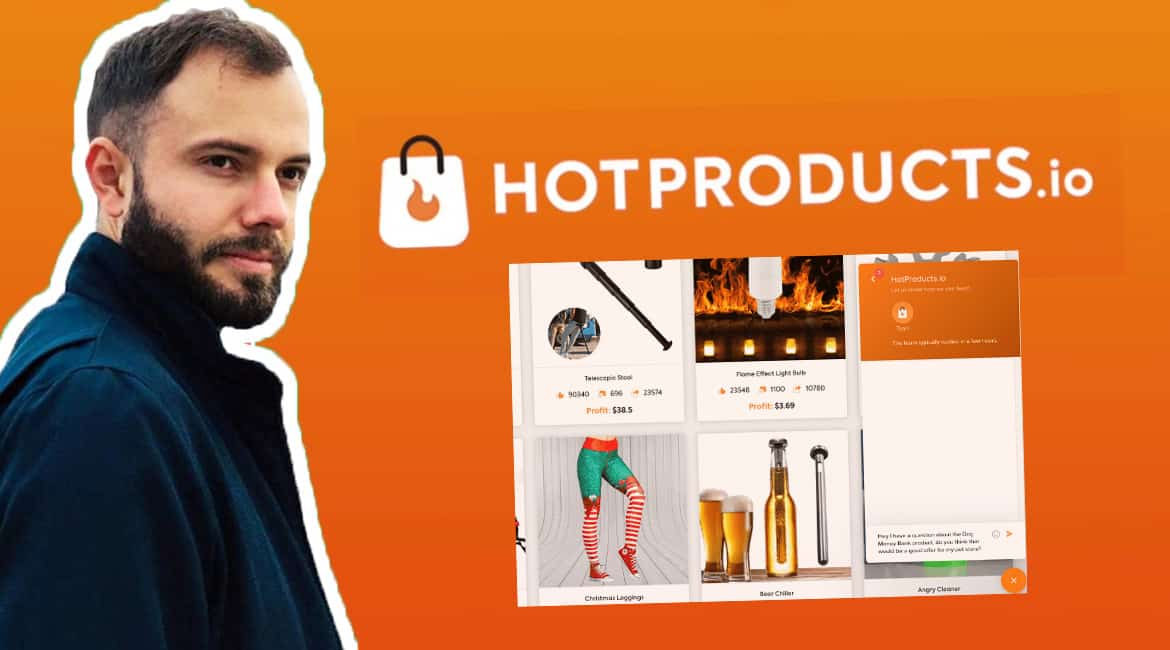 Hotproducts.io avis pour trouver des niches en dropshipping