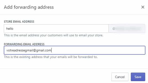 Comment Créer Un Email Pro De Contact Avec Shopify