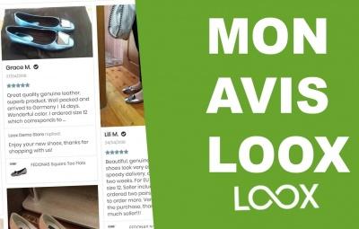 Une explication et des photos sur l'application loox qui permet d'avoir des avis en dropshipping.