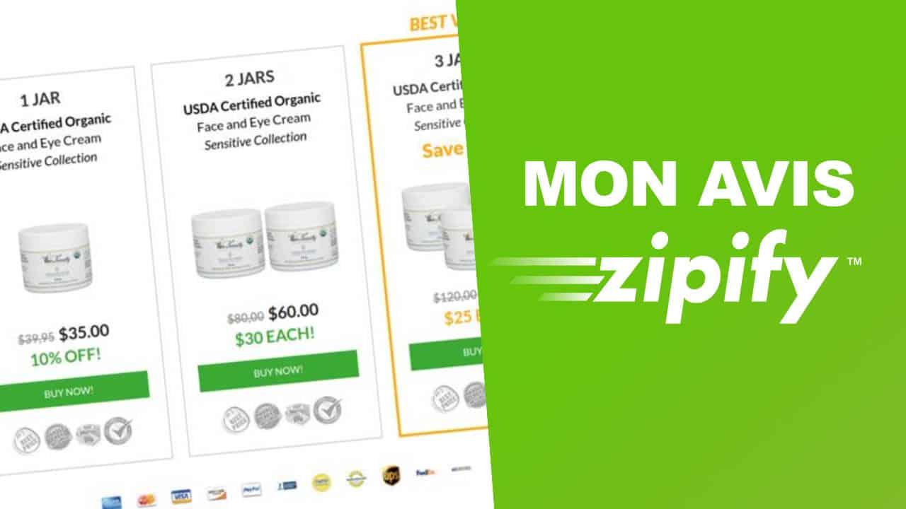 Zipify : mon avis sur le créateur de page à forte conversion