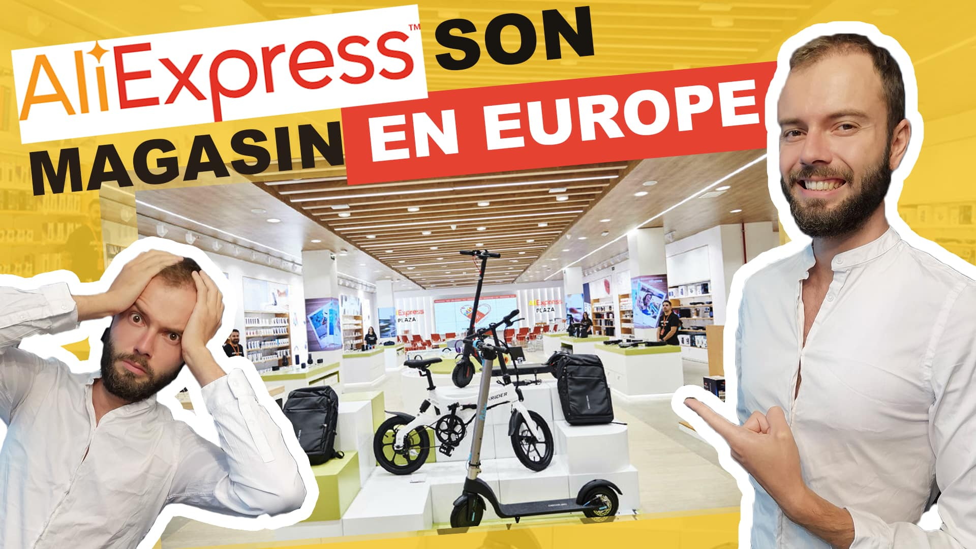 Aliexpress ouvre son magasin en europe à madrid, dit frank houbre, formateur ne dropshipping et shopify