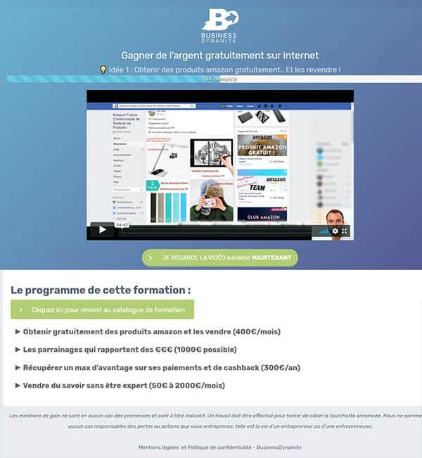 Des tutoriels et vidéos pour apprendre à faire du business en ligne.