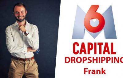 Franck Houbre en train d'expliquer pourquoi il a fait l'émission Capital sur M6 au sujet du dropshipping