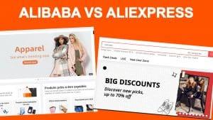 Un comparatif entre aliexpress et alibaba pour savoir quoi choisir.