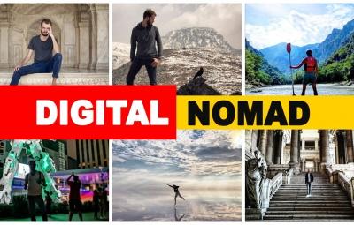 Il y a plusieurs digital nomads qui sont en train de travailler sur un business en ligne à distance, pour gagner de l'argent en voyageant.