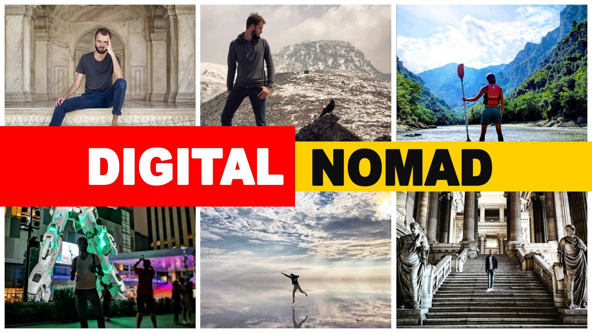 Comment devenir digital nomad pour travailler en voyageant ?