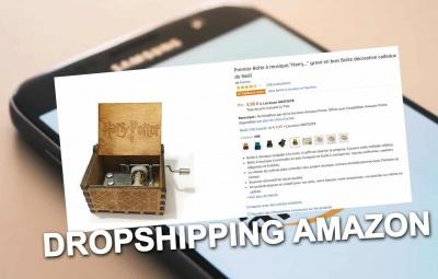 Réussir en dropshipping sur amazon avec ce cours et tutoriel avec un produit d'aliexpress.