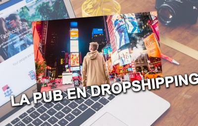 Une personne en train de regarder comment faire de la pub ou publicité en dropshipping, c'est un client.