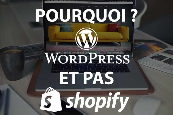 Un comparatif entre wordpress et shopify qui permet de voir quel est le meilleur cms pour faire du dropshipping