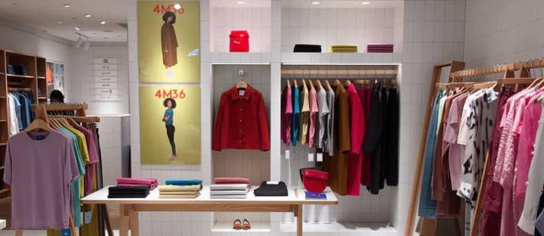 Une boutique de vêtement en dropshipping qui vend plusieurs produits.
