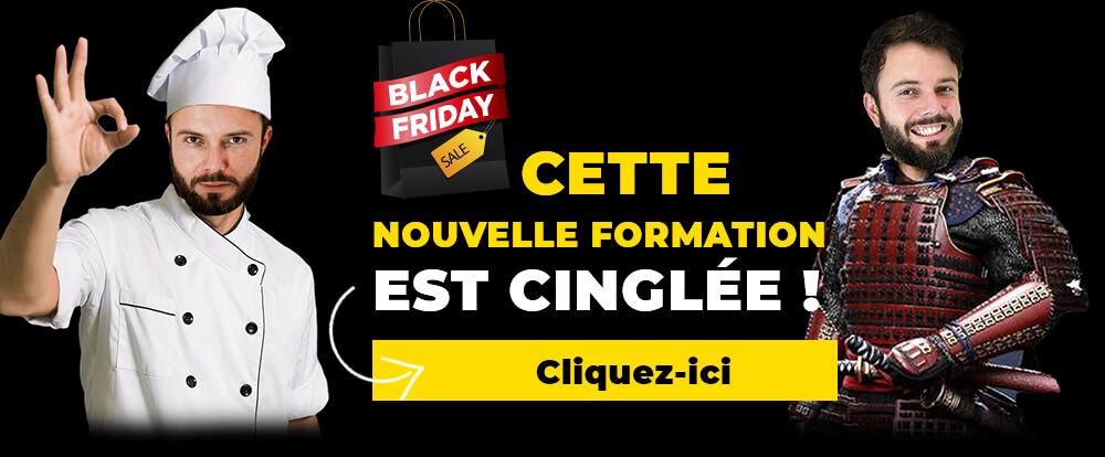 publicité d'une formation spéciale pour black friday 3