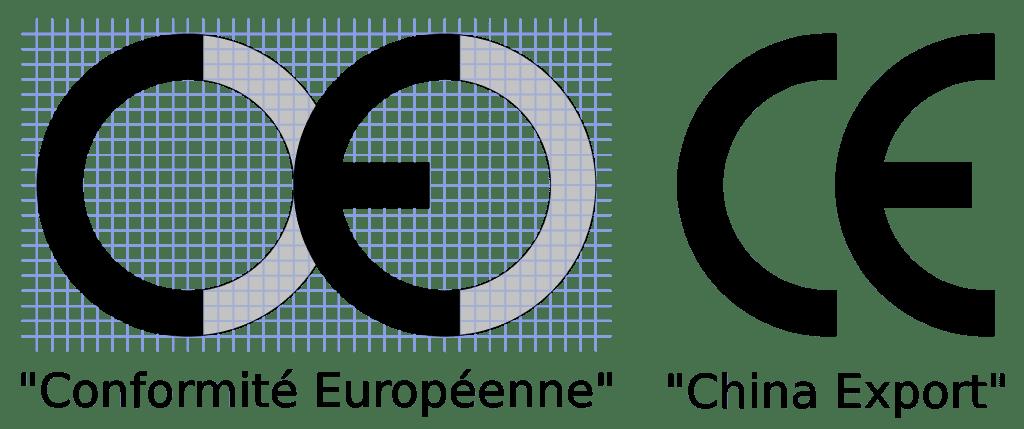 différence entre la conformité européenne et le china export CE.