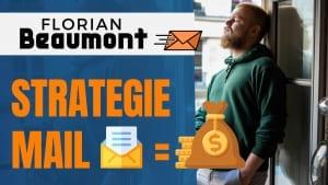 Floriant beaumont en train de donner son avis sur sa stratégie marketing et mailing