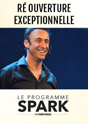 Inscription au programme SPARK de Franck Nicolas